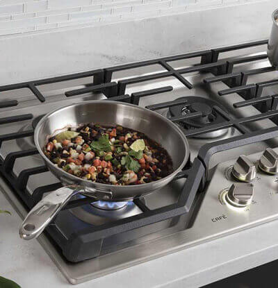 GE Café Cooktop Features